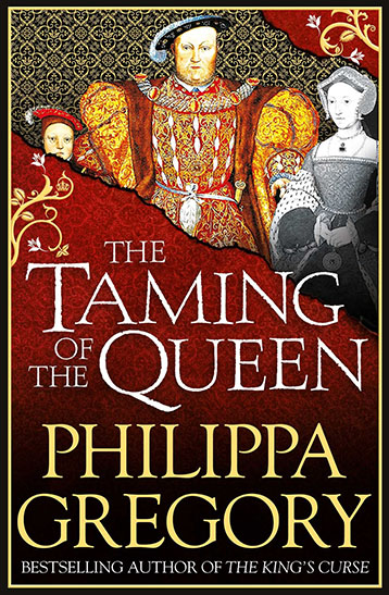The Taming of the Queen UK Cover