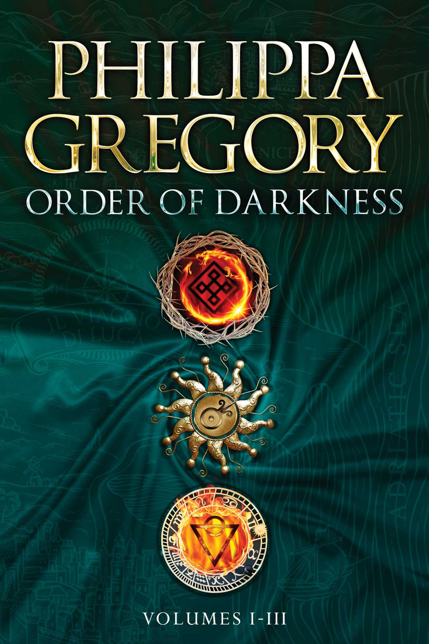 Order of Darkness Volumes I – III UK Cover